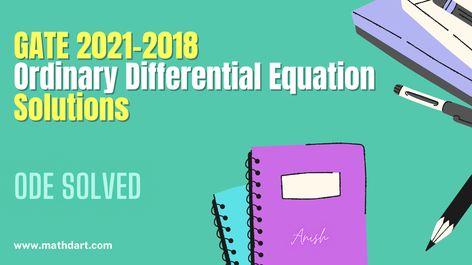 GATE Solution Ordinary Differential Equation
