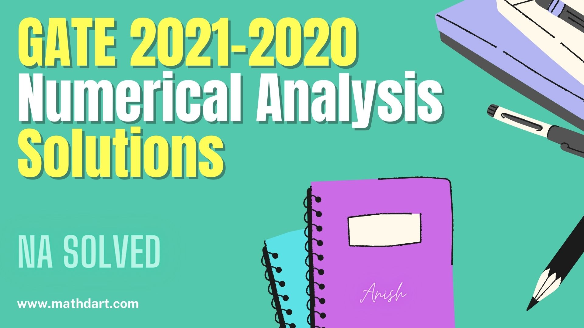 Numerical Analysis GATE Solutions 2021 & 2020