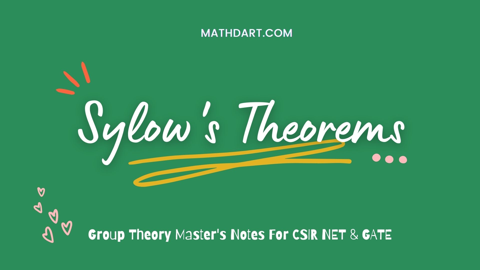 Sylow's Theorems